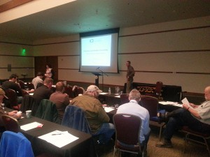 Kevin Kane presents at the APWA Conference in February.