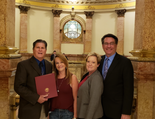 Todd Ohlheiser Recognized by Colorado State Senate