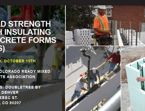 FREE Seminar: Build Strength with Insulating Concrete Forms (ICFs)