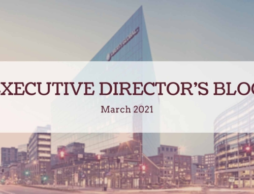 March 2021 Executive Director's Blog