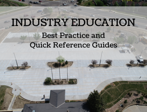 Industry Education – Best Practice & Quick Reference Guides