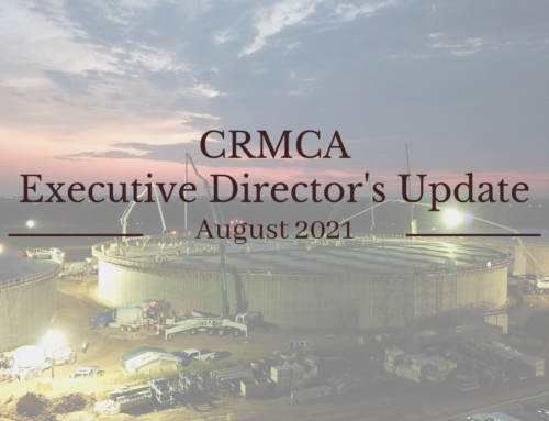 August 2021 Executive Director's Blog