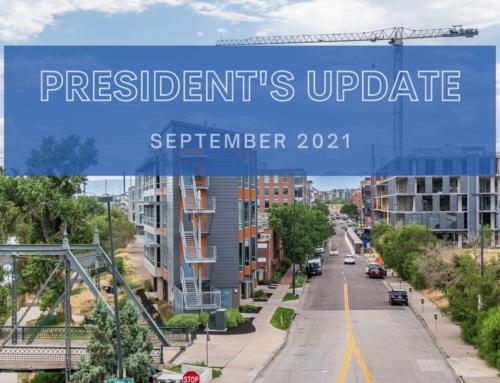 September 2021 President's Blog